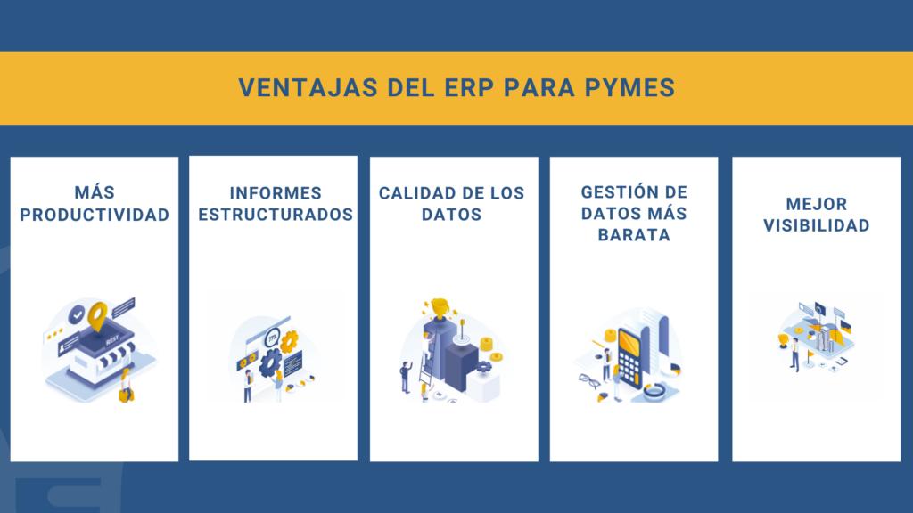 ventajas del ERP para pymes